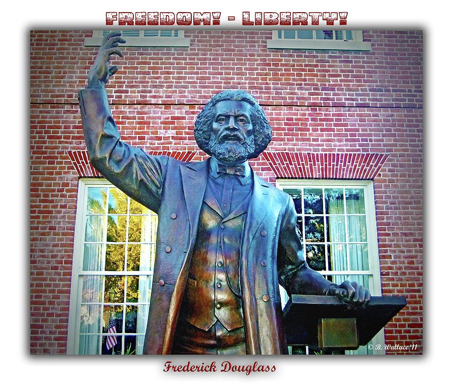 2d Photograph - Frederick Douglass by Brian Wallace