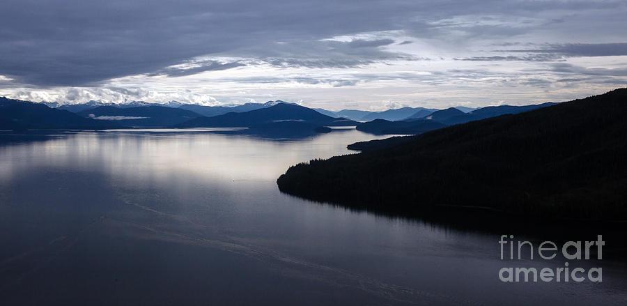 Alaska Photograph - Frederick Sound Morning by Mike Reid
