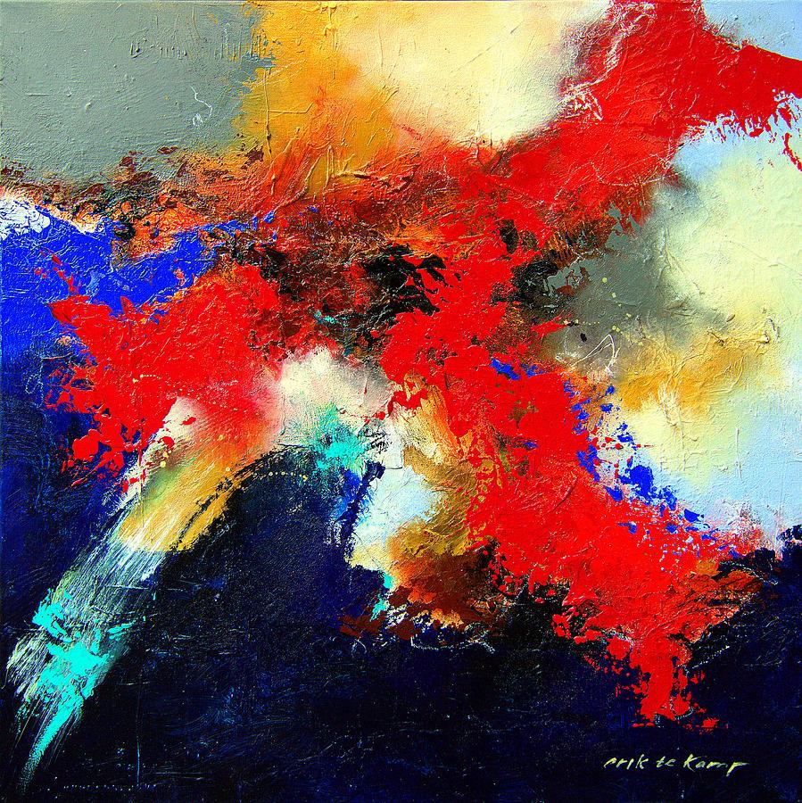 Musician Painting - Free No1 by Erik Te Kamp