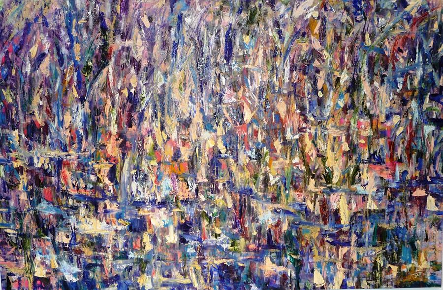 Abstract Painting - Freedom 4 Sale by Beverly Smith