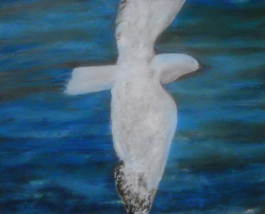Freedom Painting - Freedom - Atessa Elementary School Logo by Nicla Rossini