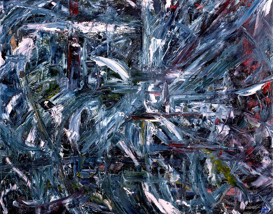 Abstract Painting - Freedom by Beverly Smith