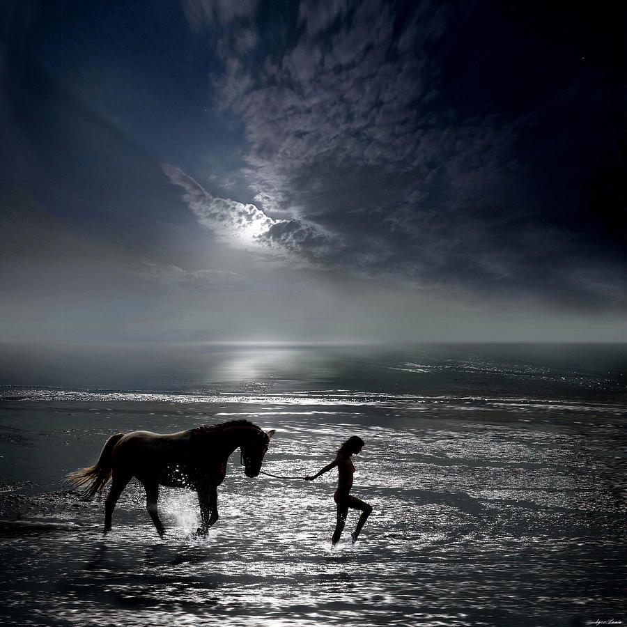 Water Photograph - Freedom by Igor Zenin