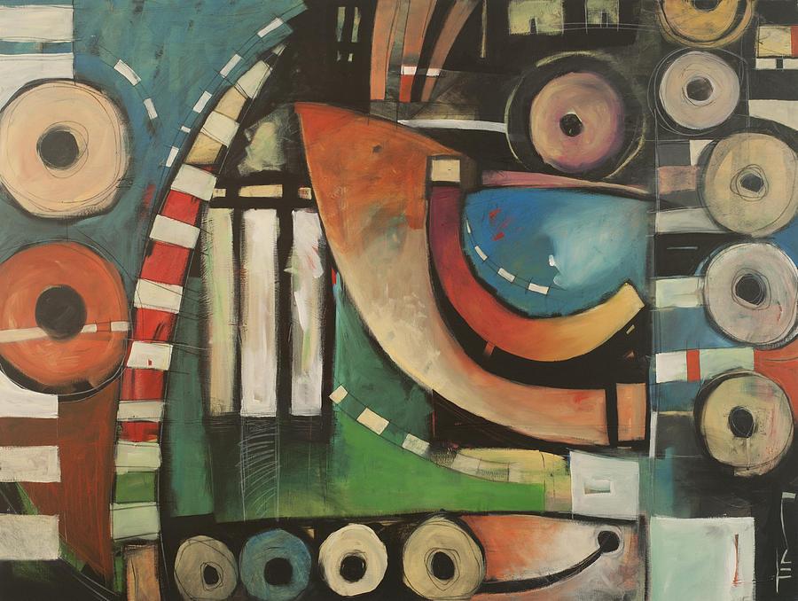 Jazz Painting - Freedom Jazz Dance by Tim Nyberg