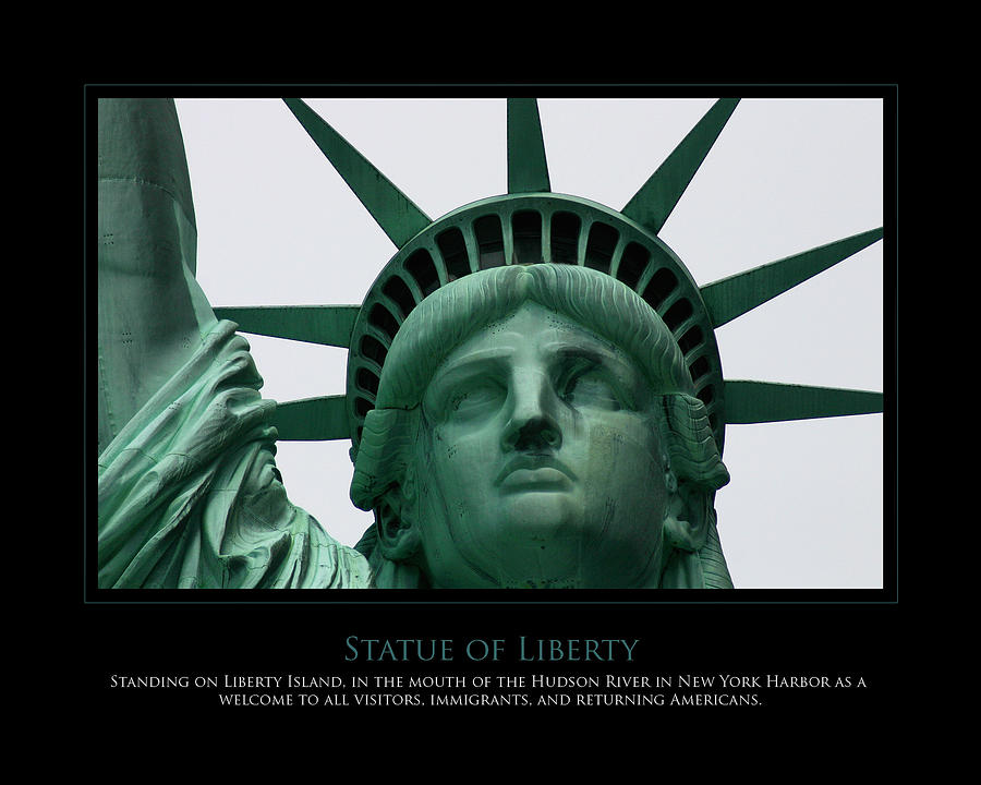 Statue Of Liberty Photograph - Freedom by Jim McDonald Photography