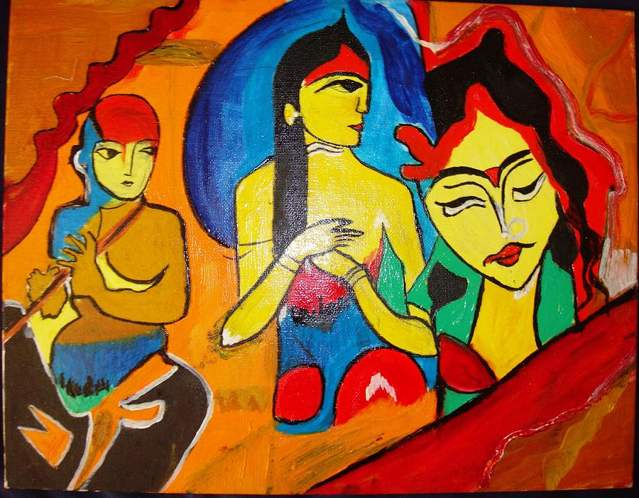 Freedom Of Mind Painting by Sonali Singh