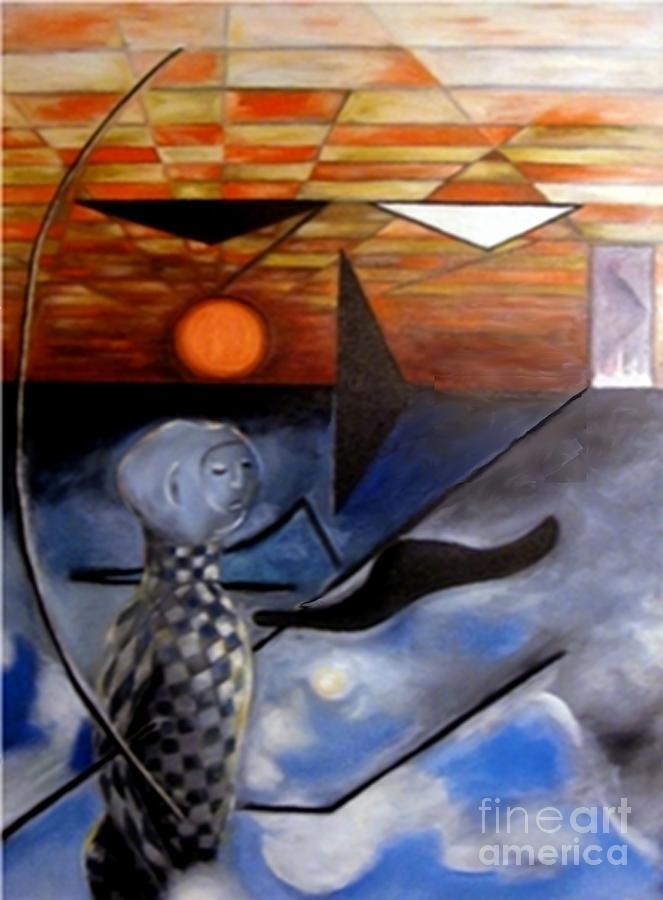 Freedom Of Speech Painting - Freedom Of Speech by Alexis Feyou de Happy