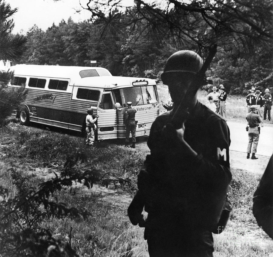 1960s Photograph - Freedom Riders, 1961 by Granger