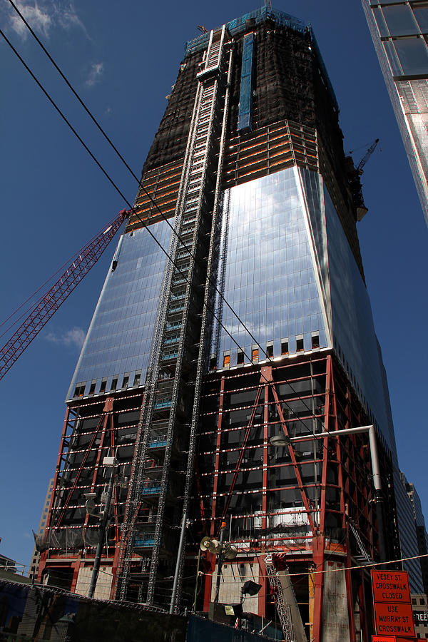 World Trade Center Photograph - Freedom Tower 5 by Andrew Fare