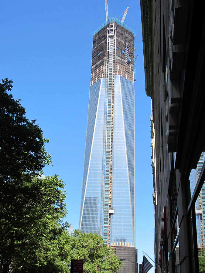 Freedom Tower NYC Photograph by Sandy Varco