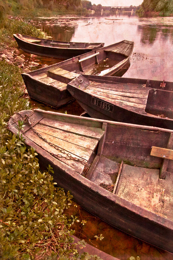 Boats Photograph - French Antiques by Debra and Dave Vanderlaan