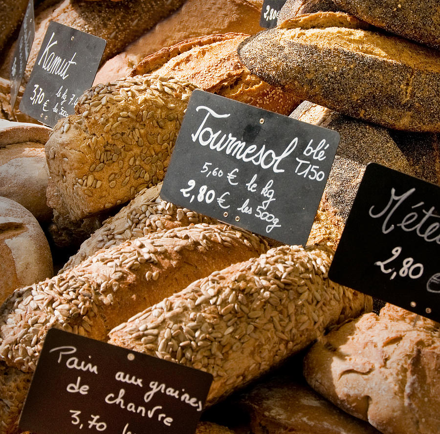 Bread Photograph - French Bread Of Provence by Kent Sorensen