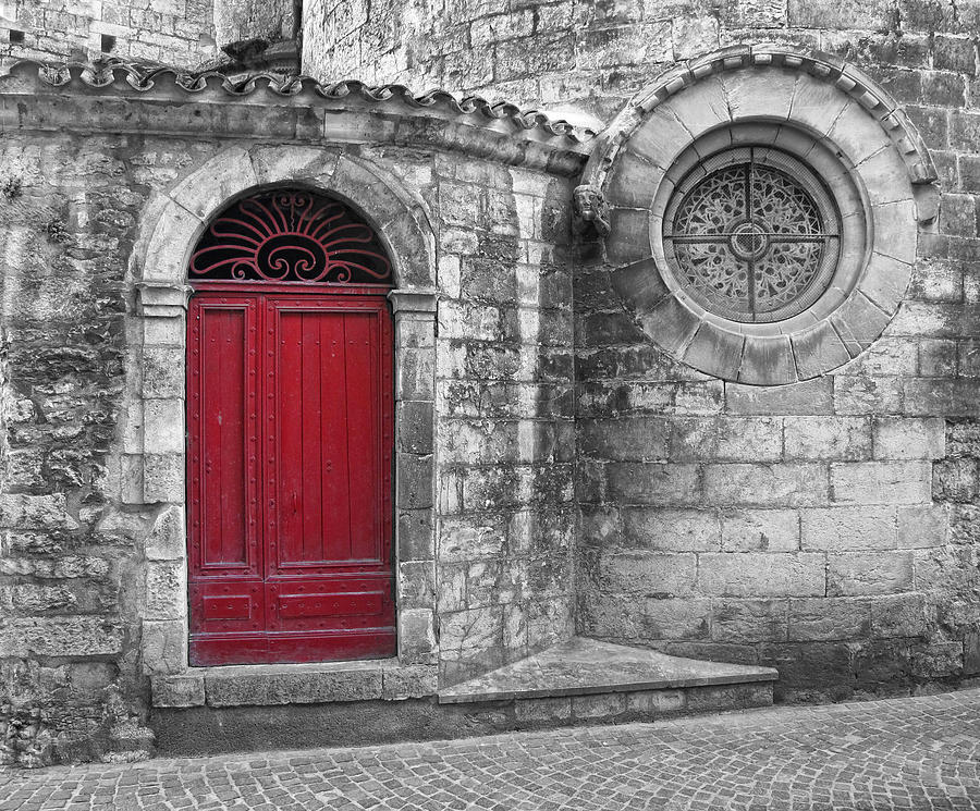 France Photograph - French Church Exterior by Dave Mills