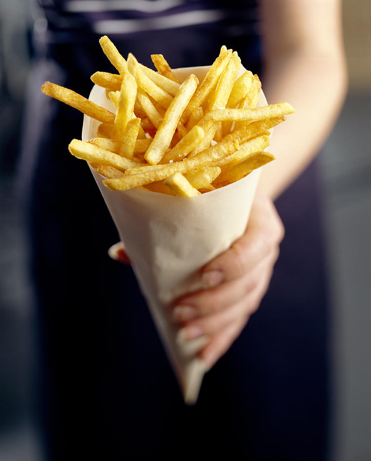Processed Photograph - French Fries by David Munns