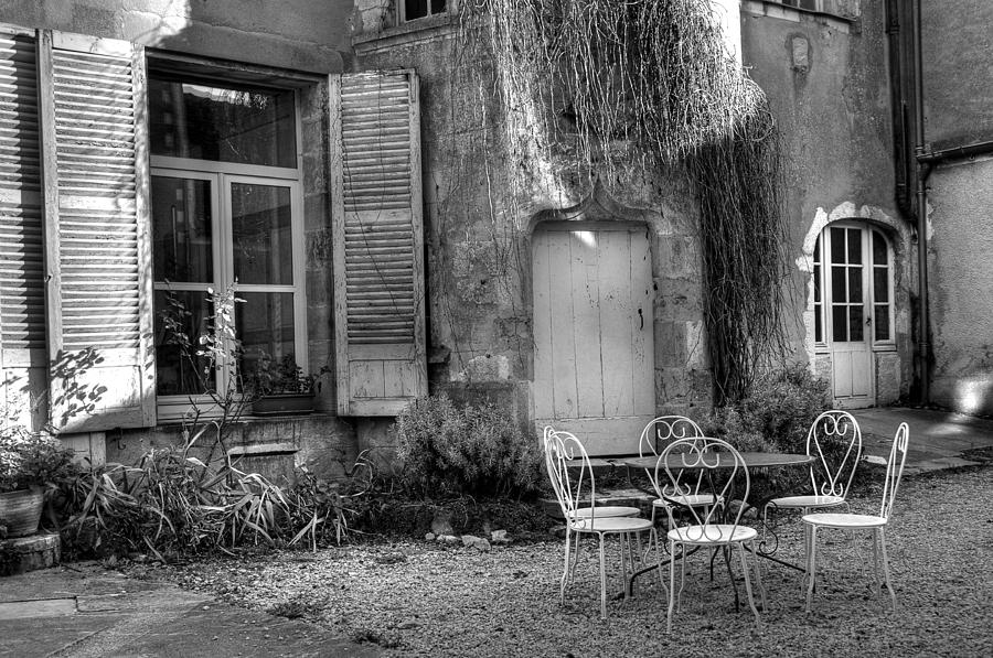 France Photograph - French Garden by Jan Carr