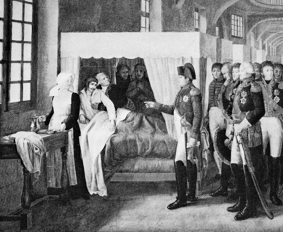Napoleon Photograph - French Hospital, 19th Century by