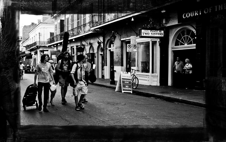 New Orleans Photograph - French Quarter Commute by Linda Kish