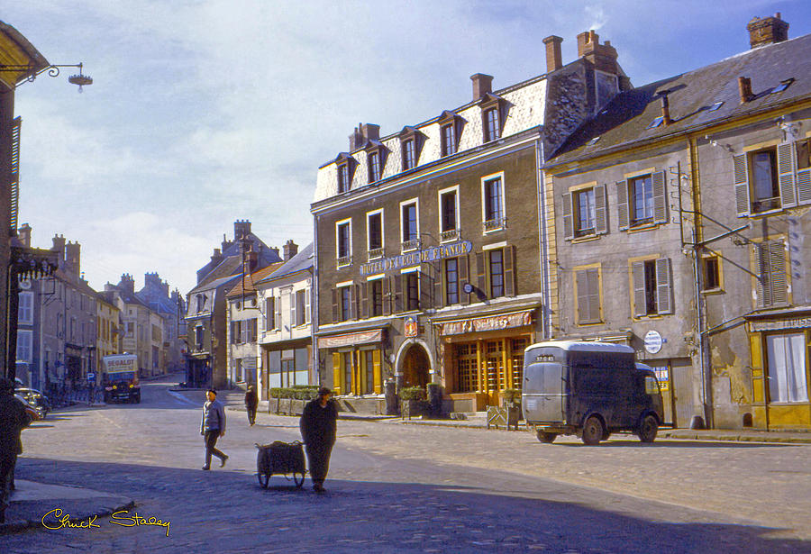 France Photograph - French Village by Chuck Staley