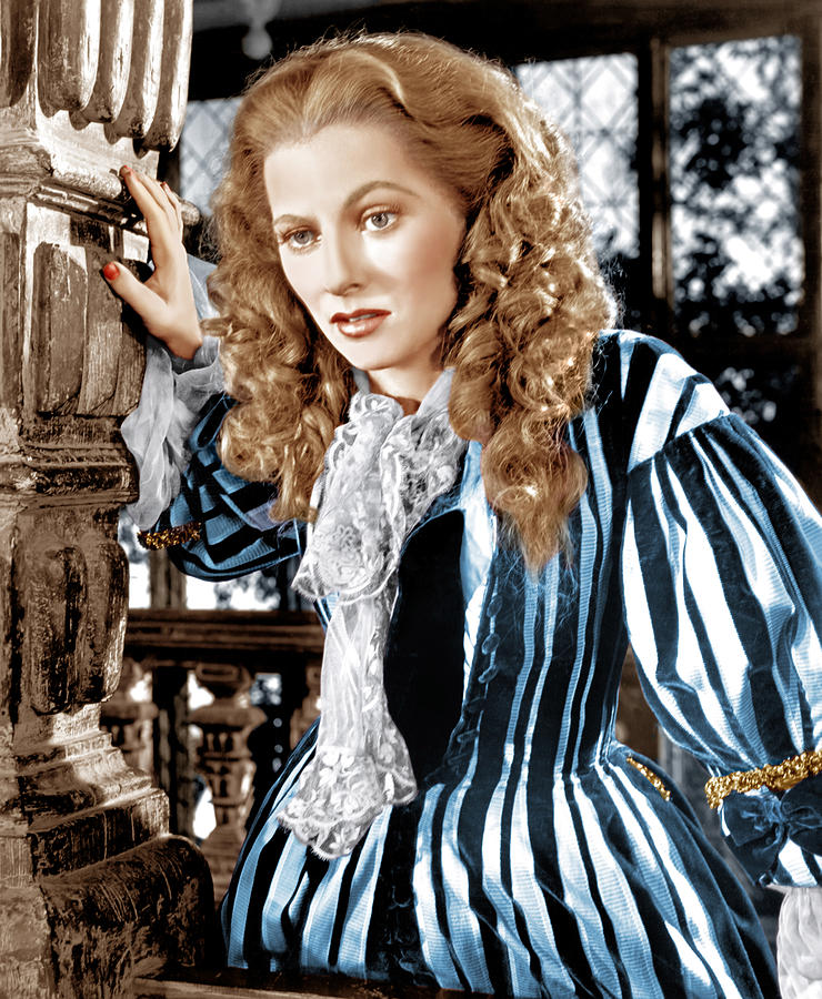 18th Century Photograph - Frenchmans Creek, Joan Fontaine, 1944 by Everett