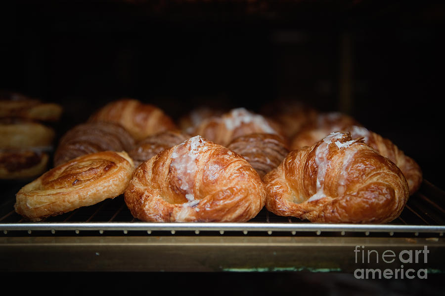 8th Arrondissement Photograph - Fresh Croissants Paris by Ei Katsumata