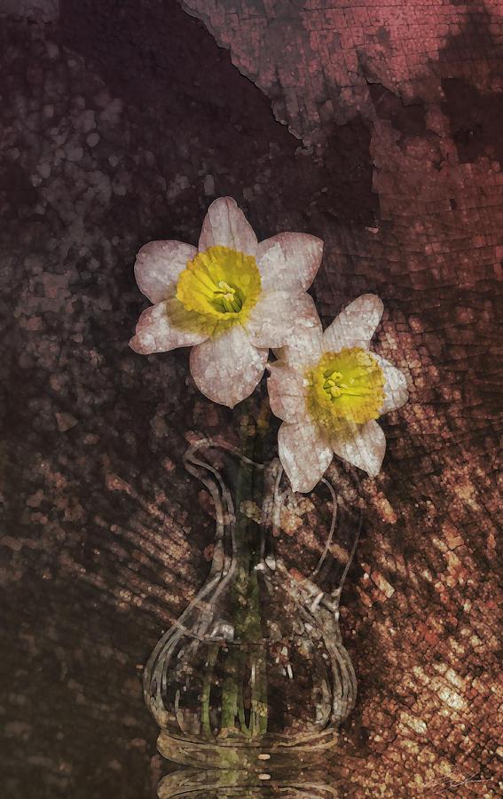Flower Digital Art - Fresh Cut by Peter Chilelli