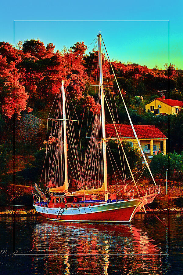 Fresh Sail  Photograph by Gennadiy Golovskoy