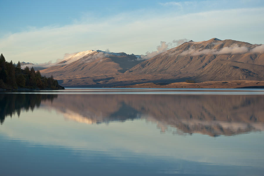 Lake Photograph - Fresh Snow Reflections  by Graeme Knox