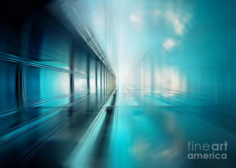 Abstract Photograph - Freshness Of Air by Frank Waechter