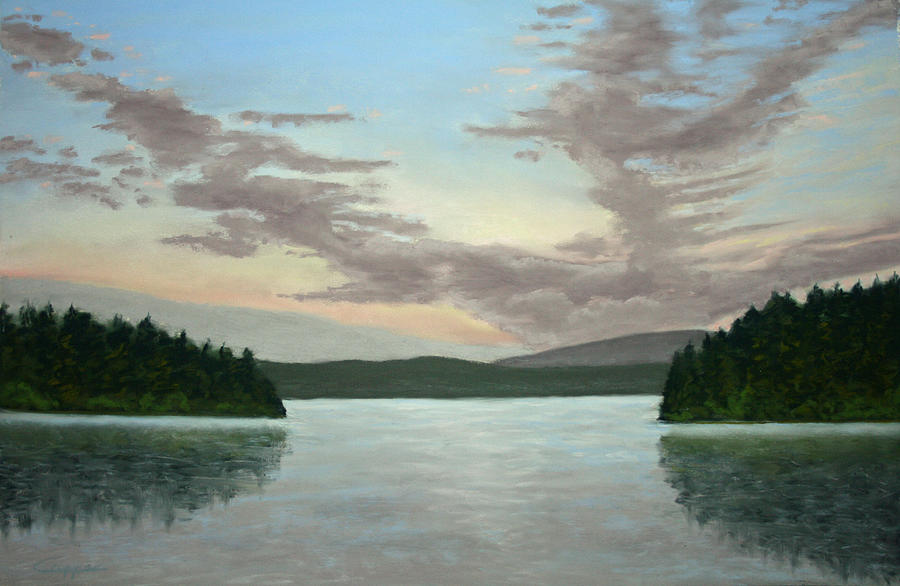Landscape Painting - Friday Harbor Sunrise by Carl Capps
