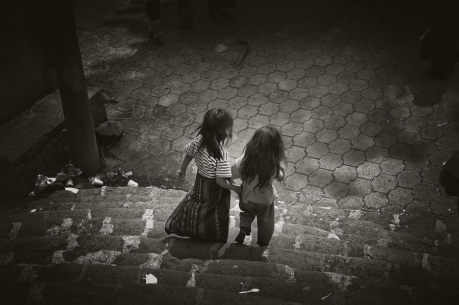 Girls Photograph - Friends by Tom Bell