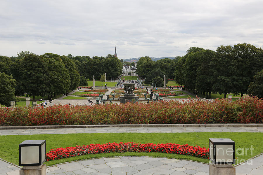 Oslo Photograph - Frogner Park by Carol Groenen