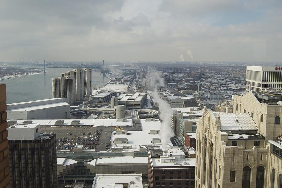 Detroit Photograph - From Atop The Guardian 1758 by Michael Peychich