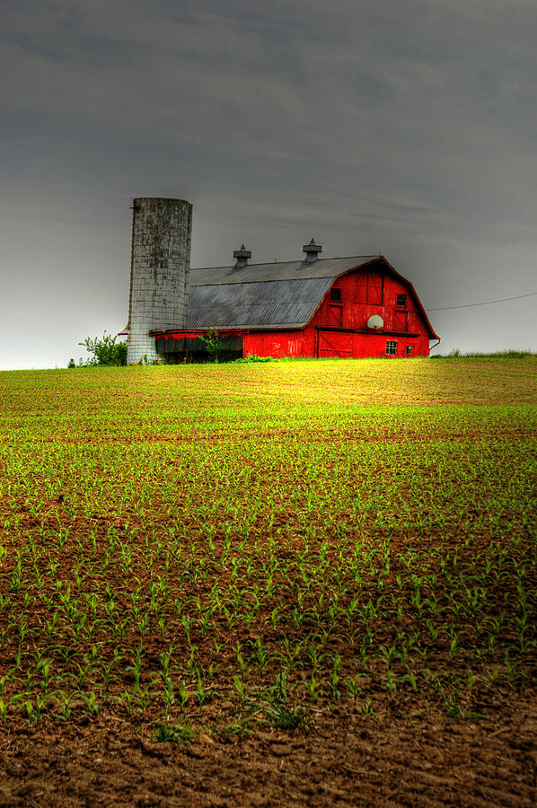Barn Photograph - From Here by Off The Beaten Path Photography - Andrew Alexander