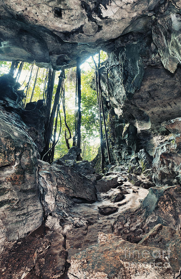 Cave Photograph - From The Cave by MotHaiBaPhoto Prints