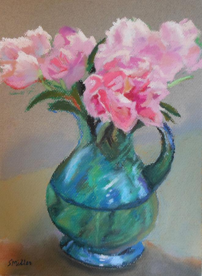 Flowers Painting - From The Garden by Sylvia Miller