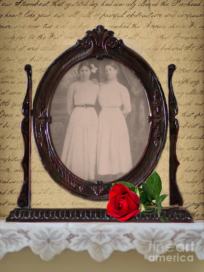 1800s Photograph - From The Past by Betty LaRue