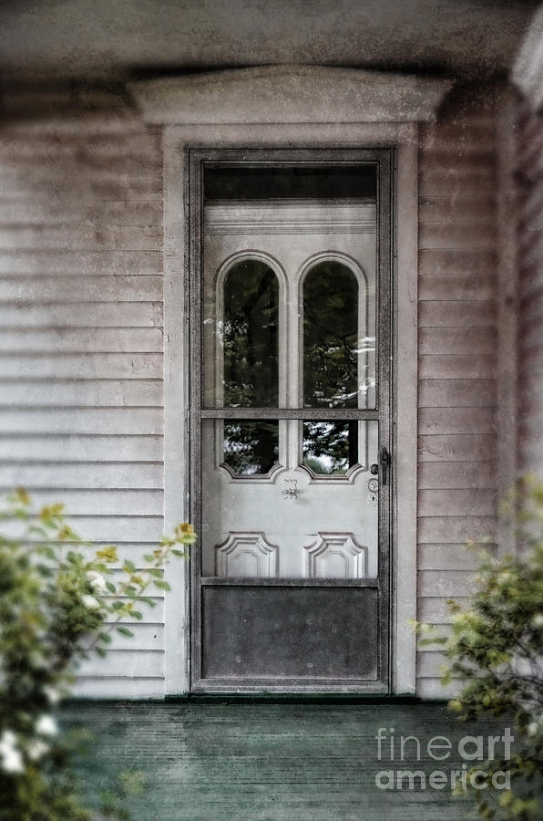 Front Door Of Vintage House Photograph By Jill Battaglia