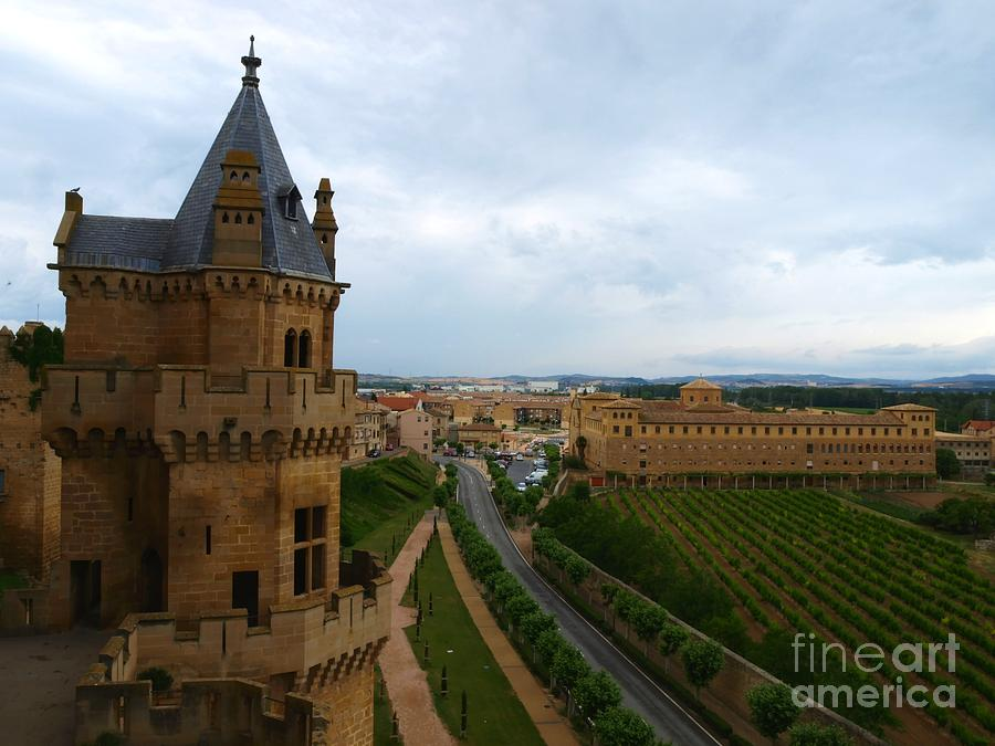 Castle Photograph - Front View From The Castle by Alfredo Rodriguez