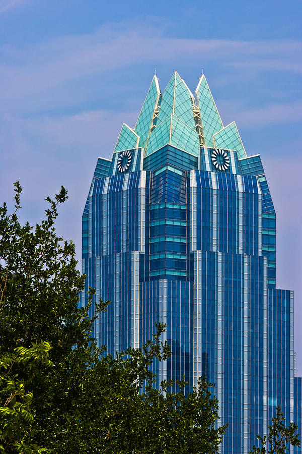 Frost Bank Tower In Austin Photograph by Ed Gleichman