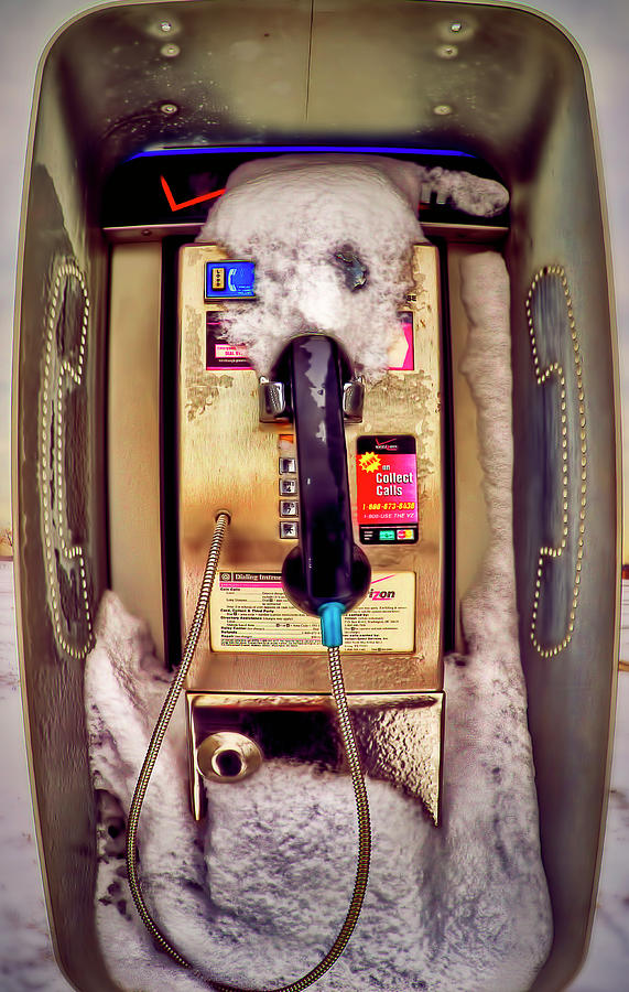 Phone Photograph - Frozen Contact   by Dmitriy Mirochnik