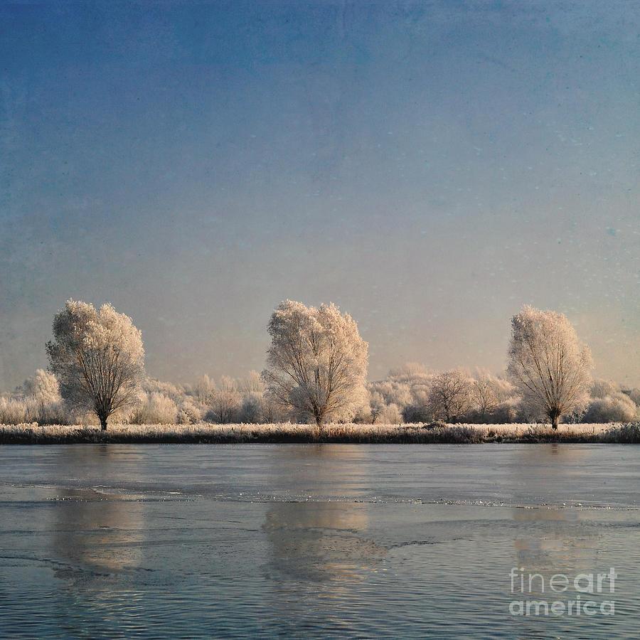Lake Photograph - Frozen Lake by Lyn Randle