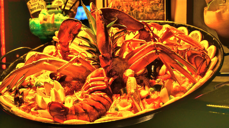 Lobster Photograph - Frugal Decoration by Dieter  Lesche