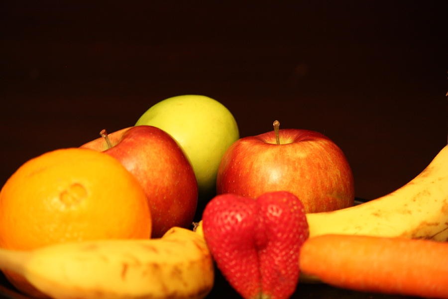 Apple Photograph - Fruit Dreams After Mid-night by Andrea Nicosia
