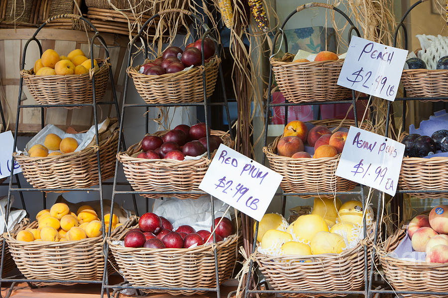 America Photograph - Fruit For Sale by Clarence Holmes