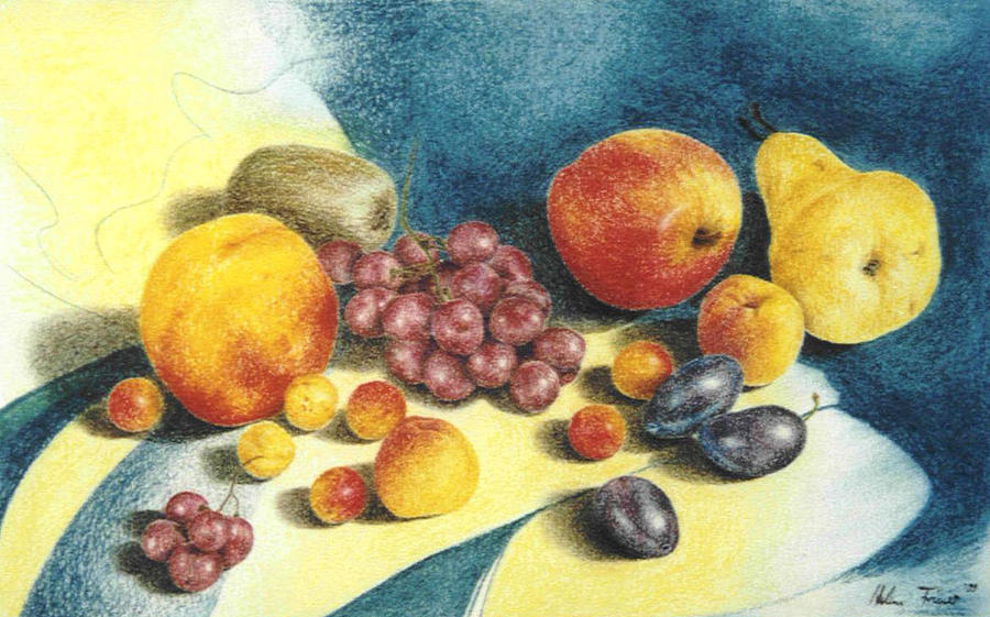 Fruit Painting - Fruit by Helene Schmittgen