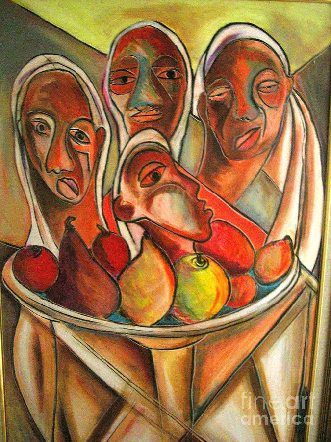 Robert Daniels Painting - Fruit Of My Lions by Robert Daniels