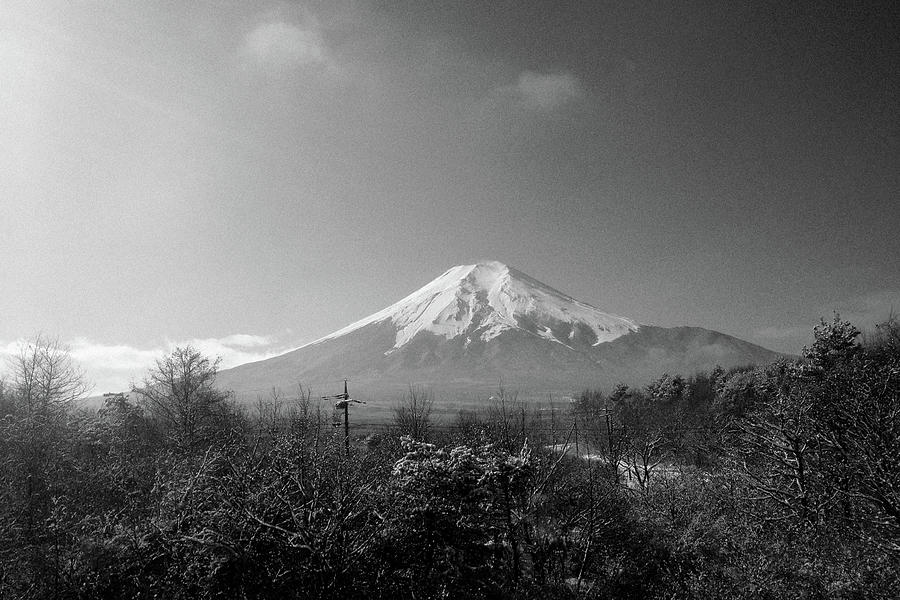 Horizontal Photograph - Fujisan Injapan by B&W landscape street