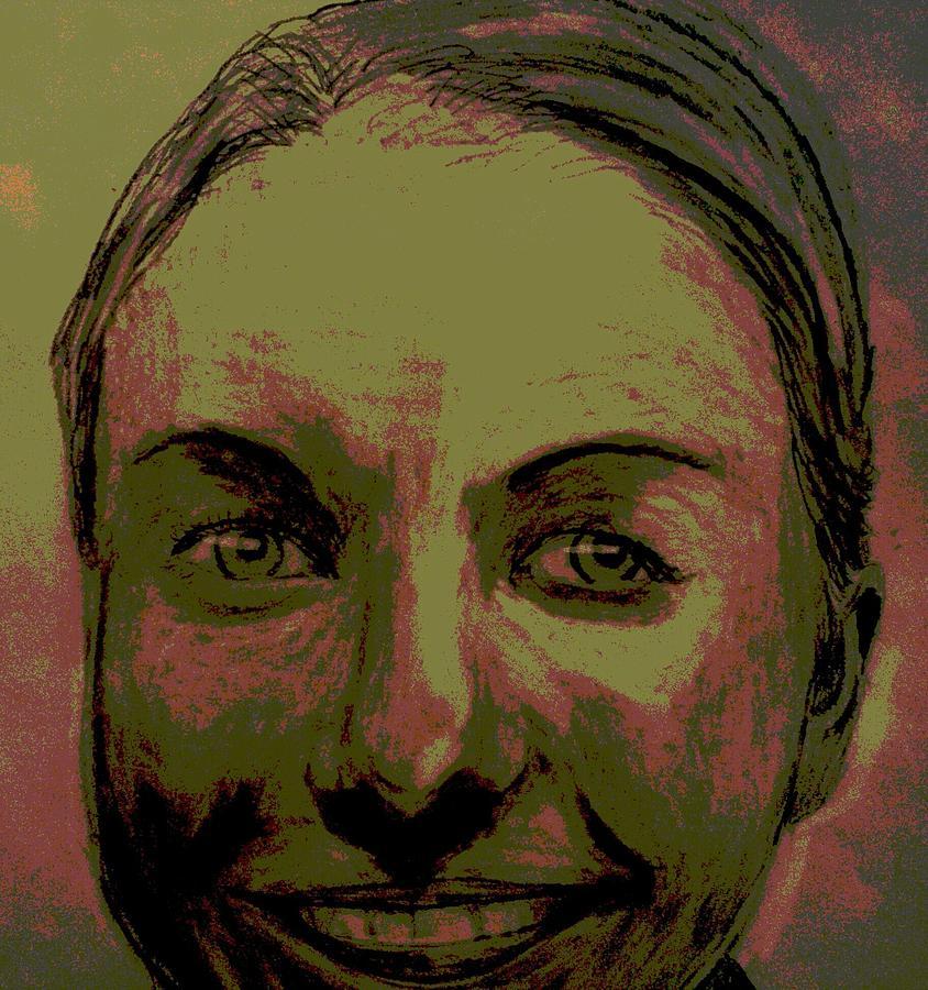 Face Drawing - Full Hart by Bradley   Howell