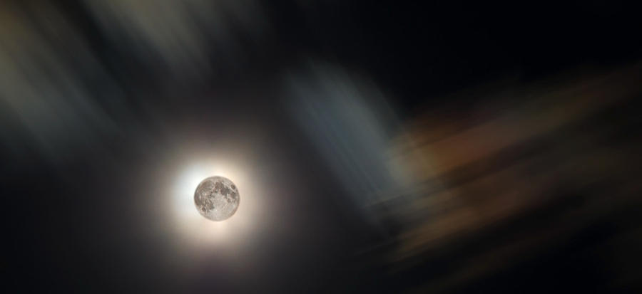 Moon Photograph - Full Moon II by Jeff Galbraith
