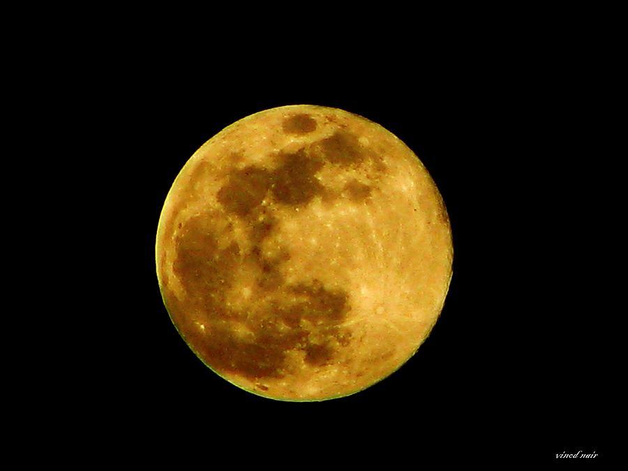 Full Moon Photograph by Vinod Nair
